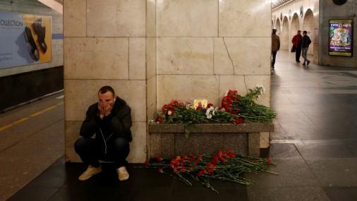 Sanktpēterburgas metro dienu pēc sprādziena