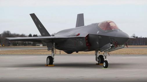 В Эстонии приземлились самые дорогие американские истребители F-35