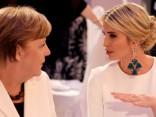 Ivanka Trampa apmeklē Sieviešu samitu Berlīnē