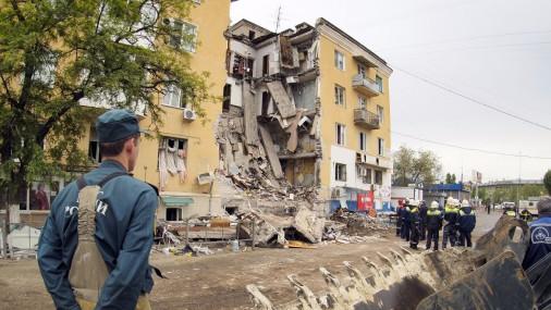 Взрыв в многоэтажке Волгограда