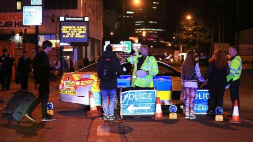 Взрыв в английском  Манчестере