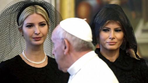 Трамп встретился с Папой Римским