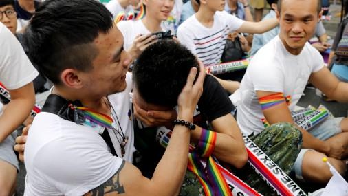 В Тайване Верховный суд поддержал однополые браки