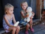 Детские будни на востоке Украины