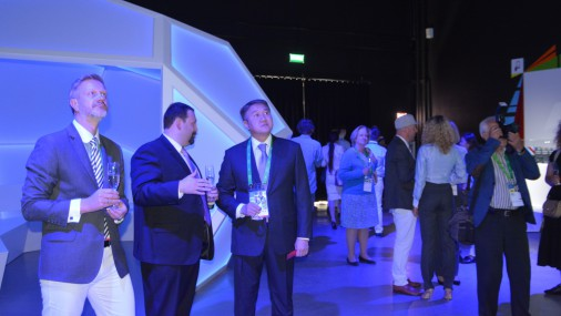 """Latvijas paviljona atklāšana izstādē """"Astana Expo 2017"""""""