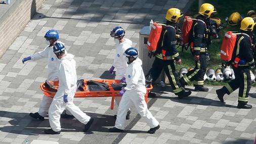 Опознаны погибшие в пожаре в высотке в Лондоне