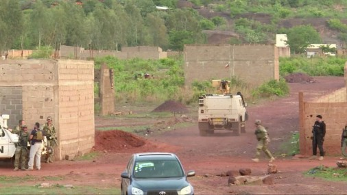 Нападение на курорт в Мали