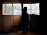 Японские борцы сумо готовятся к турниру