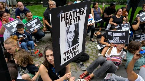 Protesti ASV pilsētā Šarlotsvilā
