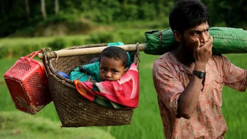 Rohindžu bēgšana no Mjanmas