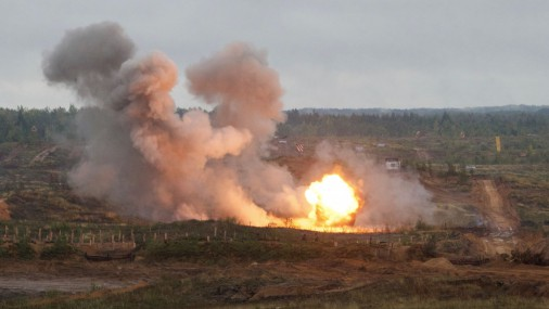 Militārās mācības «Zapad 2017» Baltkrievijā