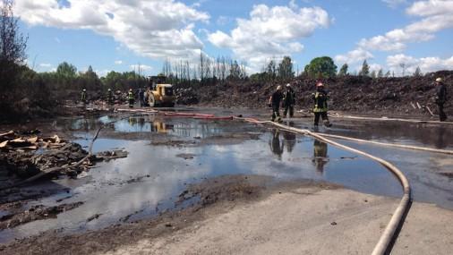 Пожар в Юрмале: второй день