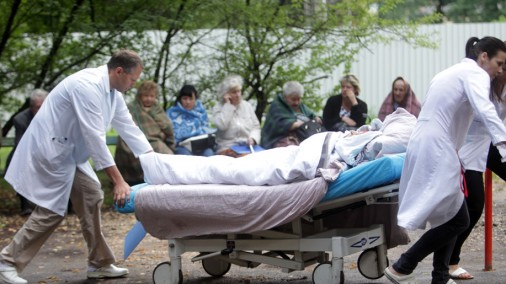 Ugunsgrēks Stradiņu slimnīcā: evakuē pacientus