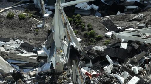 Eksperimenta rezultātā Zolitūdes lielveikala jumtam pārlūzušas konstrukcijas