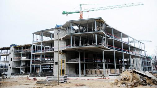 Stradiņa slimnīcas jaunā korpusa būvniecība