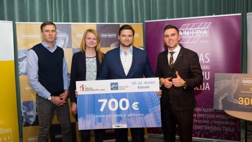 Konkursā «Gada aģents 2017» noskaidroti Latvijas labākie nekustamā īpašuma aģenti