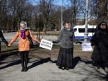 Пикет против закрытия РАПУО у здания Кабмина