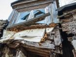 Разрушающийся частный дом на ул. Крузес, 17