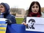 Аакция протеста против агрессии России на Украине