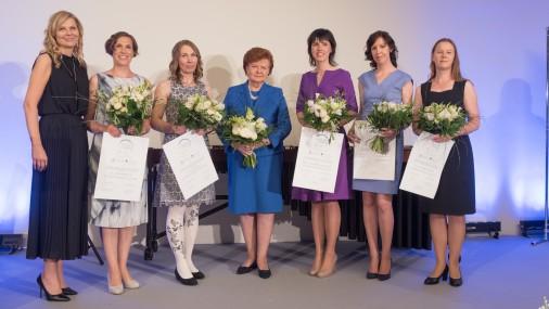Присуждены стипендии «Женщинам в науке» размером 6000 евро
