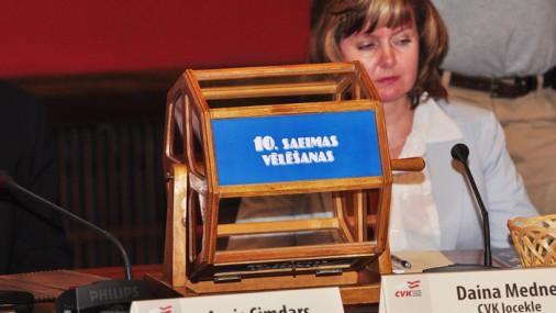 Лотерея списков кандидатов в депутаты Сейма