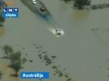 Austrālijā spēcīgākie plūdi 30 gadu laikā