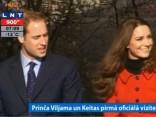 Karaliskais pāris - Keita un Viljams atgriežas tikšanās vietā