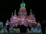 Ledus skulptūru festivāls Ķīnā