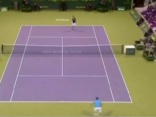 Ernests Gulbis piekāpās ATP ranga līderim Rodžeram Federeram.