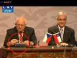 Čehijas prezidents nočiepj pildspalvu