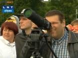 Latvijā debesīs vēro Venēras tranzītu