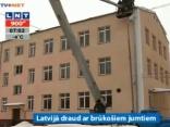 Situācija uz Rīgas jumtiem - kritiska
