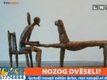 Māksliniekam Bikšem nozagtas bronzas skulptūras