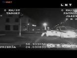 Video: pakaļdzīšanās Rīgas centrā ar vairākām policijas patruļmašīnām