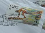 Olimpiskās pastmarkas izdošana