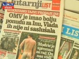 Paparaci pieķer kailus Horvātijas futbola spēlētājus