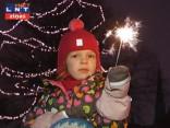 Rīgas centrā – 11. novembra krastmalā – Jauno gadu sagaidīja ap 50 tūkstošiem rīdzinieku un pilsētas viesu