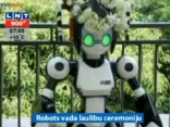 Robots Japānā vada laulību ceremoniju