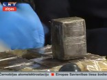VID atklājis 1115 kilogramu hašiša kontrabandu aptuveni 8-12 miljonu eiro vērtībā