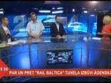 """Diskusija par """"Rail Baltica"""" tuneļa izbūvi Āgenskalnā"""