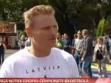 Rīgā notiek EČ basketbolā