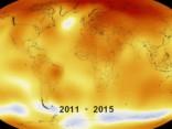 2015.gads bijis siltākais novērojumu vēsturē