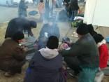 Bēgļu krīze Eiropā: Grieķijas - Maķedonijas robeža, 2. februāris