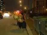 Policija padzen simtiem čigānu no graustu rajona Parīzes ziemeļos