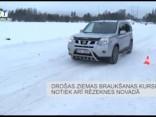 Drošas ziemas braukšanas kursi notiek arī Rēzeknes novadā