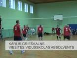 Viesītē aizrit Sēlijas kausa izcīņa volejbolā