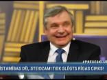 """Šadurskis par Rīgas Cirka slēgšanu nebēdā: """"Klaunus jau es redzu katru dienu"""""""