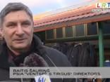 Ventspils tirgū uzņēmēji ziemā uz bankrota robežas