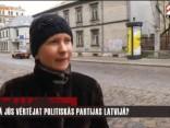 Sabiedrības viedoklis par politiskām partijām Latvijā