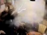 Francijā publisko video, kurā redzama terorista uzspridzināšanās restorānā Parīzē